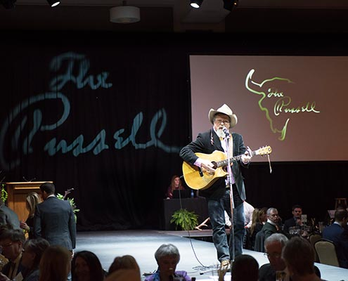 Opening song ag 2017 Russell Live Auction.