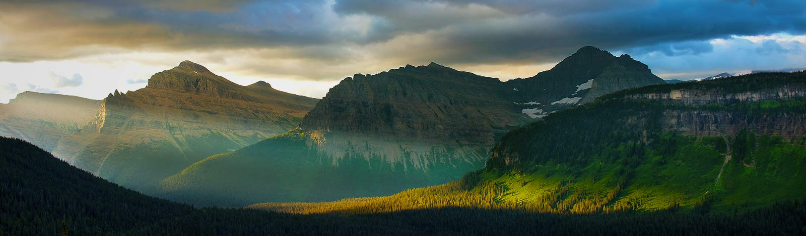 Landscape Photography - Sunset over Glacier National Park