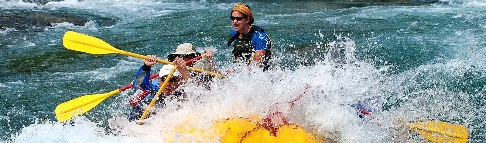 Rafting the middle fork of the Flathead River