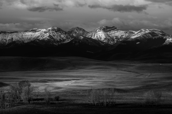Landscape Photography. Rocky Mountain Front
